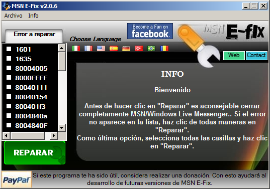 codigo error 81000306: